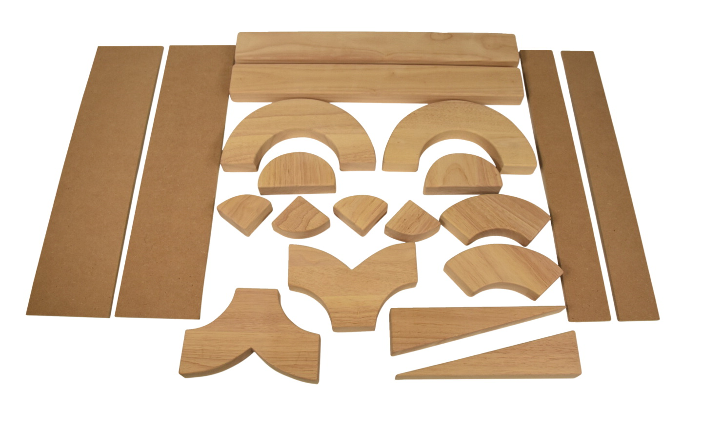 Childcraft Standard Unit Block Set, 20 Pieces