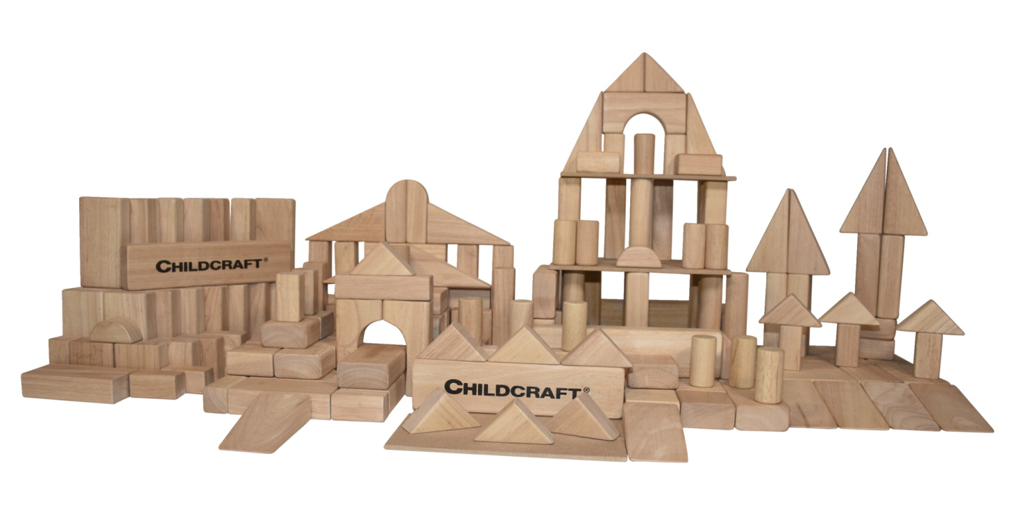 Childcraft Standard Unit Block Set, Set of 200