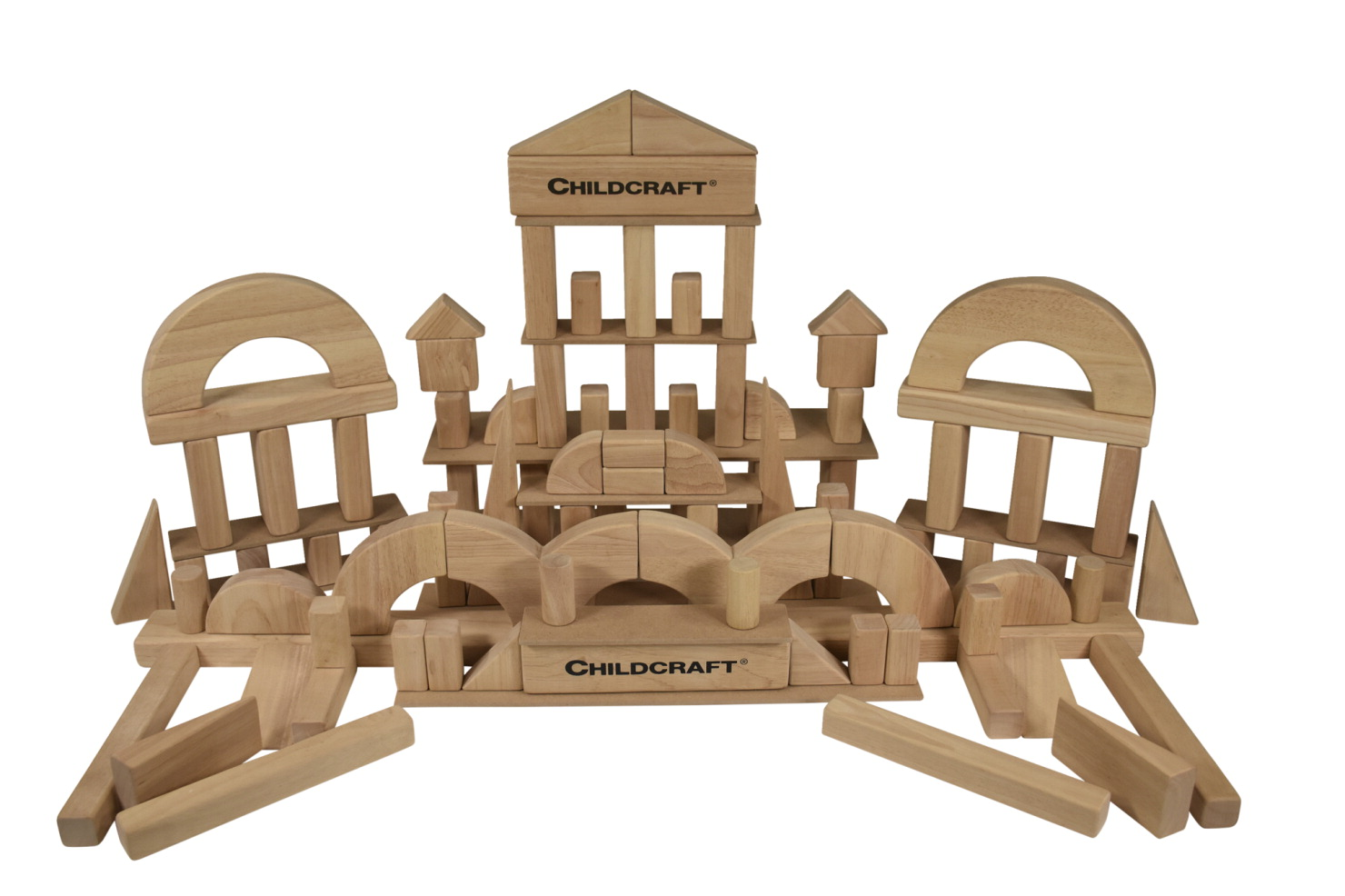 Childcraft Standard Unit Block Set, Set of 100