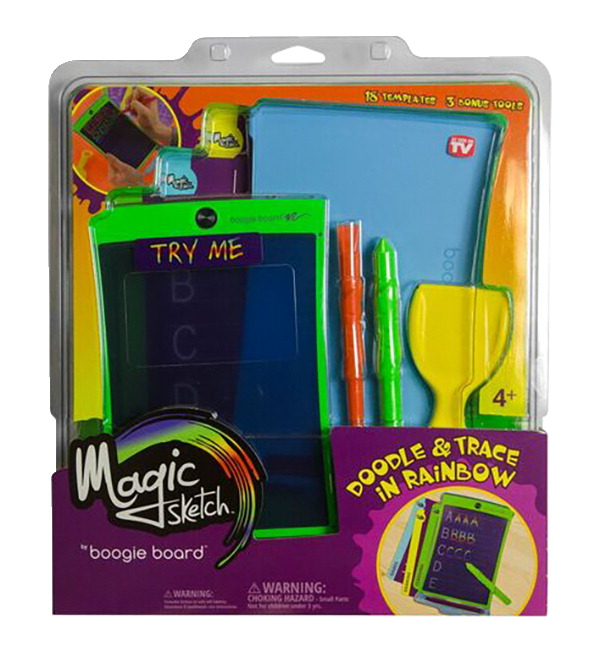 Boogie Boards Magic Sketch Tablet, LCD Write and Erase Surface