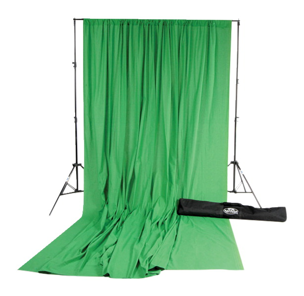 Savage Accent Muslin Background Kit, Chroma Green