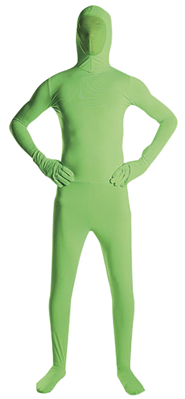 Savage Green Screen Suit, Medium