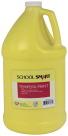 School Smart Tempera Paint, Gallon, Yellow