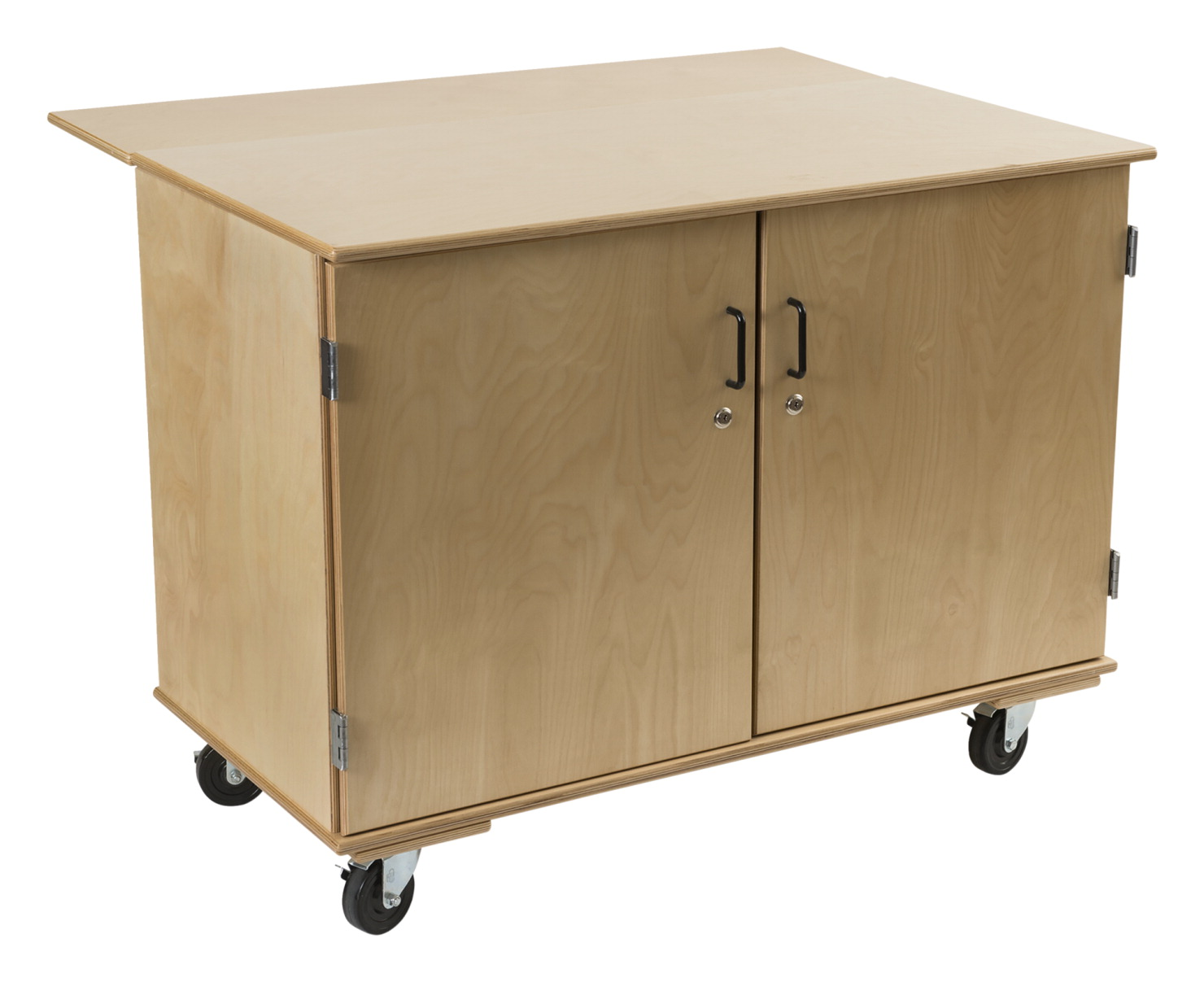 Classroom Select Robotics Storage Workbench, 48 x 24 x 36 Inches, Natural