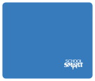 School Smart Computer Mousepads, 8 x 9-1/2 Inches, Royal Blue, Pack of 12