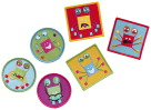 PunkinFutz PunkinPals Emotion Patches Crabster, Set of 6