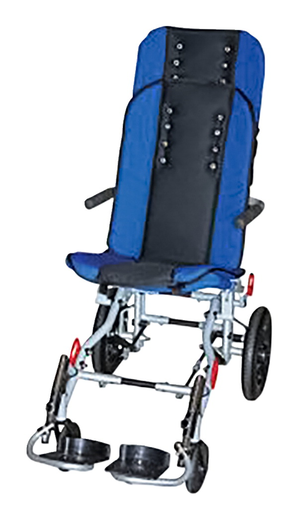 Inspired by Drive Sprout Wheelchair, 14 Inches, Blue/Black