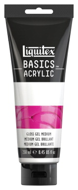 Liquitex BASICS Gloss Gel Medium, 8.45 Ounces
