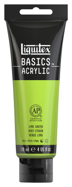 Liquitex BASICS Acrylic Paint, 4 Ounces, Lime Green