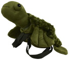 Abilitations Weighted Plush Turtle Backpack, 3 Pounds