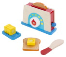 Melissa & Doug Bread and Butter Toaster Set, Set of 10
