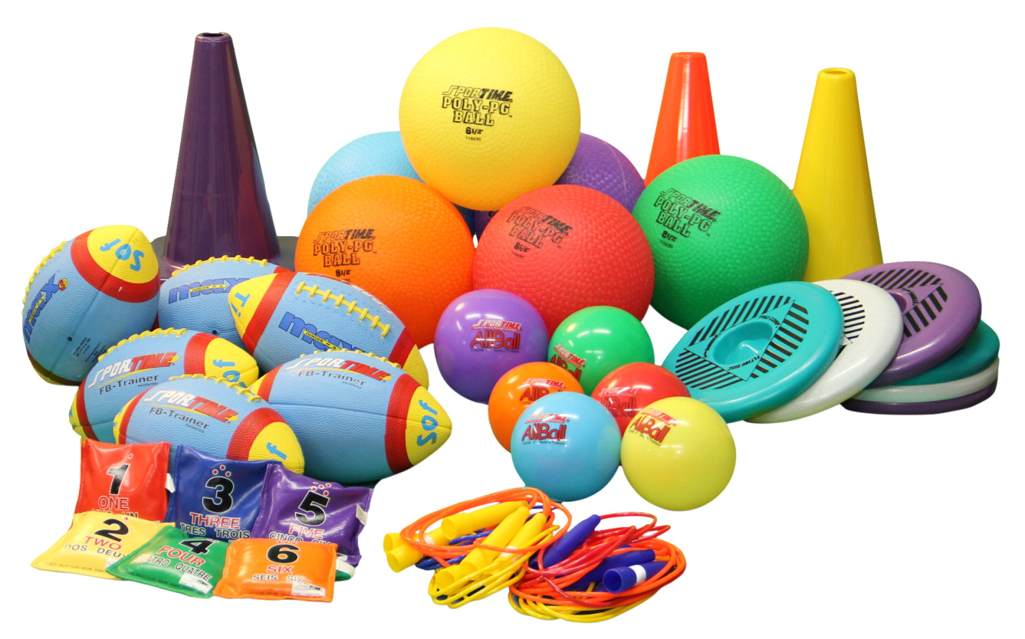 Sportime PE Starter Pack, Grades 3 to 6