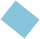 Pacon Coated Poster Board, 22 x 28 Inches, Light Blue, Pack of 25
