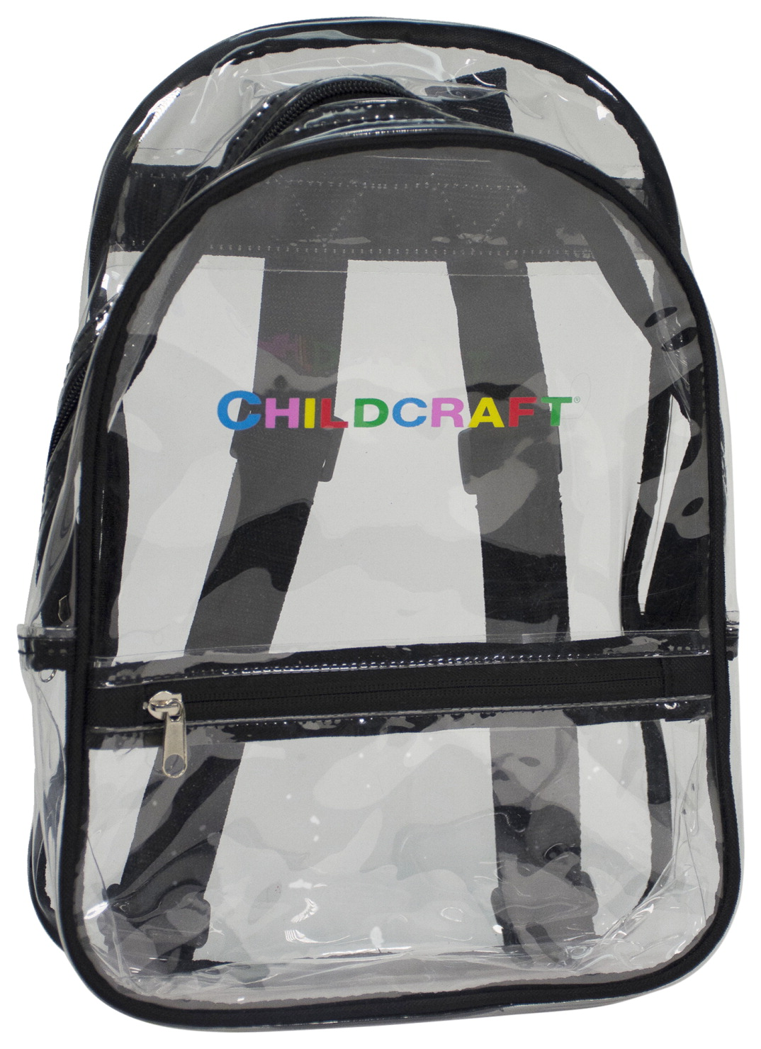 Childcraft Backpack, Clear, Large