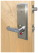 Guardian Quick Action Deadbolt Lock Cylindrical LH, Interior & Exterior Cylinders