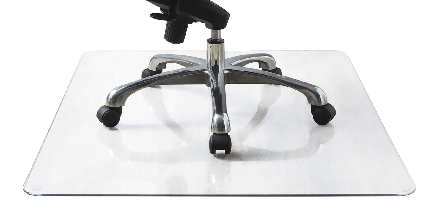 Lorell Tempered Glass Chairmat Clear School Specialty Marketplace