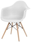 Iris Classic Shell Chair w/ Armrests -- Chair, w/Arms, 300 lb Cap