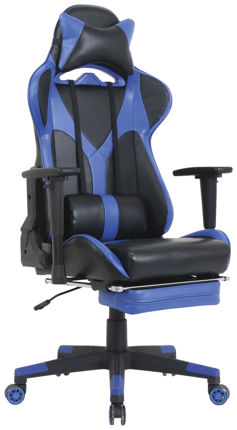 Marvelous Classroom Select Foldable Footrest High Back Gaming Chair Chair Gaming High Back 20 9 10Wx44 3 5Lx52H Be Bk Bralicious Painted Fabric Chair Ideas Braliciousco
