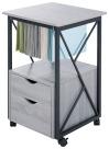 Safco Mood Storage Pedestal, 17-3/4 x 17-3/4 x 30 Inches, Gray