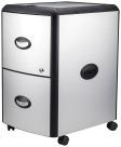 Storex Ind. Hard Top Mobile Filing Cabinet