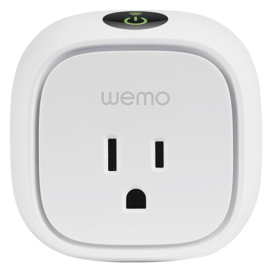 Linksys Wemo Insight Smart Plug -- Insight Smart Plug, 2-9/10 Lx2-3/10 Dx2-9/10 H, White