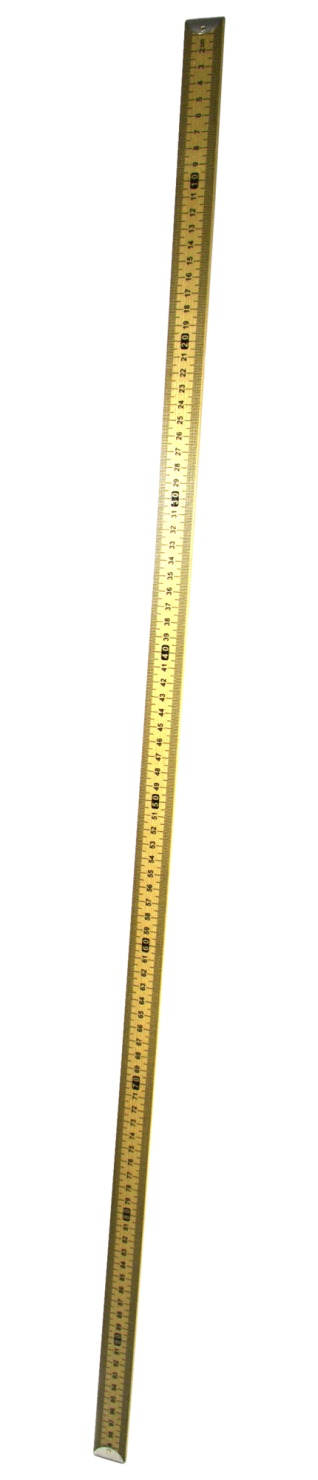 EISCO Hardwood Meter Stick