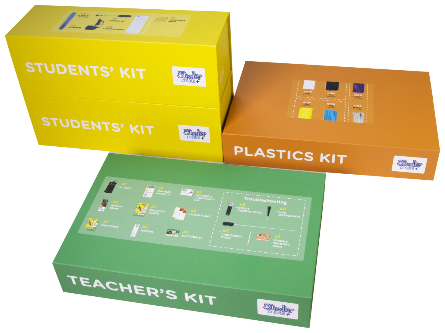 3Doodler Create Half EDU Learning Pack