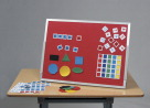 Best-Rite Double Sided Magnetic Flannel Board and Markerboard