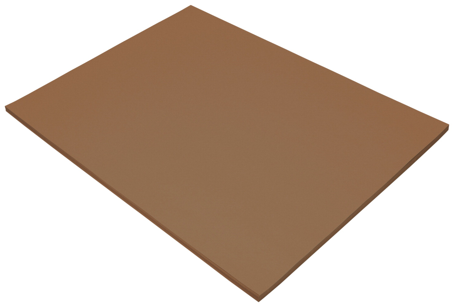 Tru-Ray Sulphite Construction Paper, 18 x 24 Inches, Warm Brown, 50 Sheets