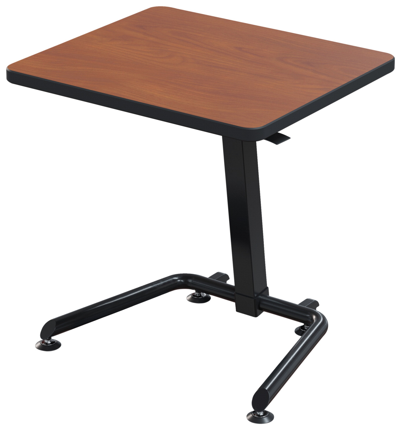Classroom Select Bond Height Adjustable Desk, Laminate Top, Black Frame, Various Options