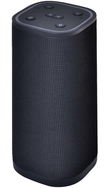 Supersonic Bluetooth/Wi-Fi Speaker withAmazon Alexa Functionality