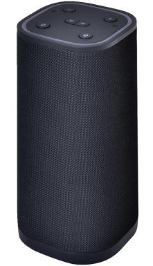 Supersonic Bluetooth/Wi-Fi Speaker withAmazon Alexa Functionality
