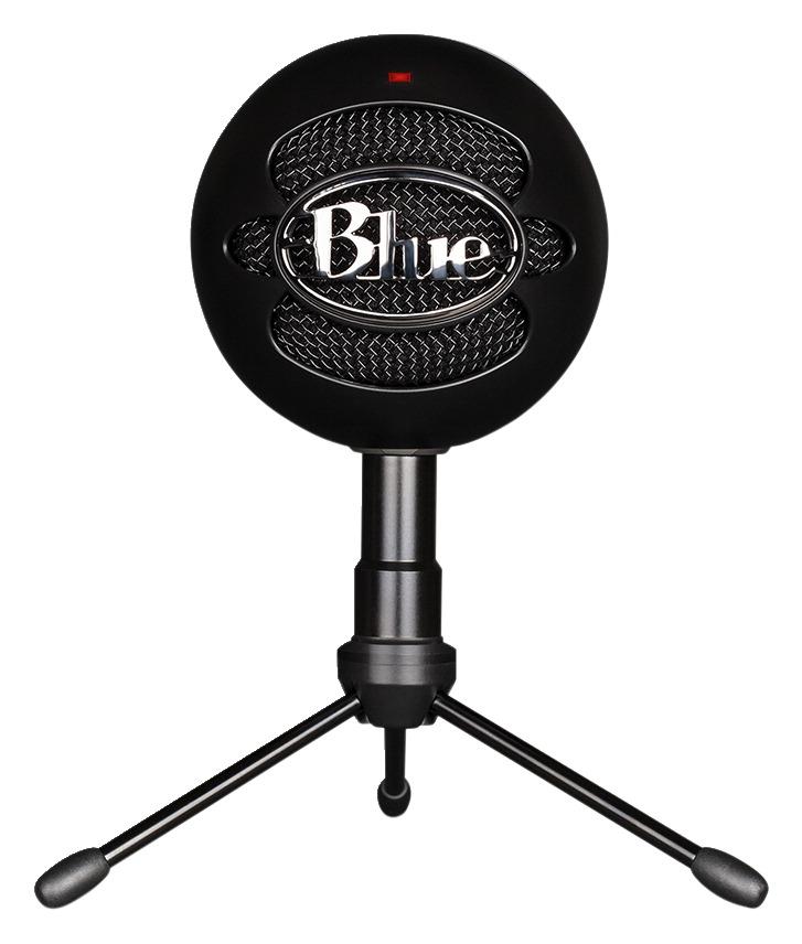 Blue Microphones Snowball Ice Microphone Black Box