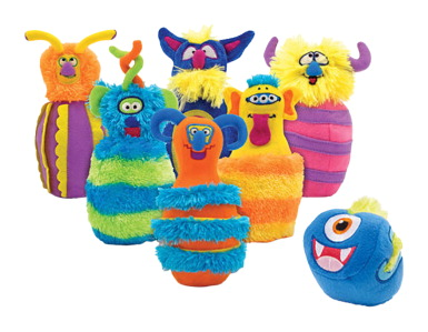 Melissa & Doug Monster Bowling, Set of 7