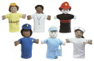 Children's Factory Ethnic Occupation Puppets, 9 Inch, Set of 6