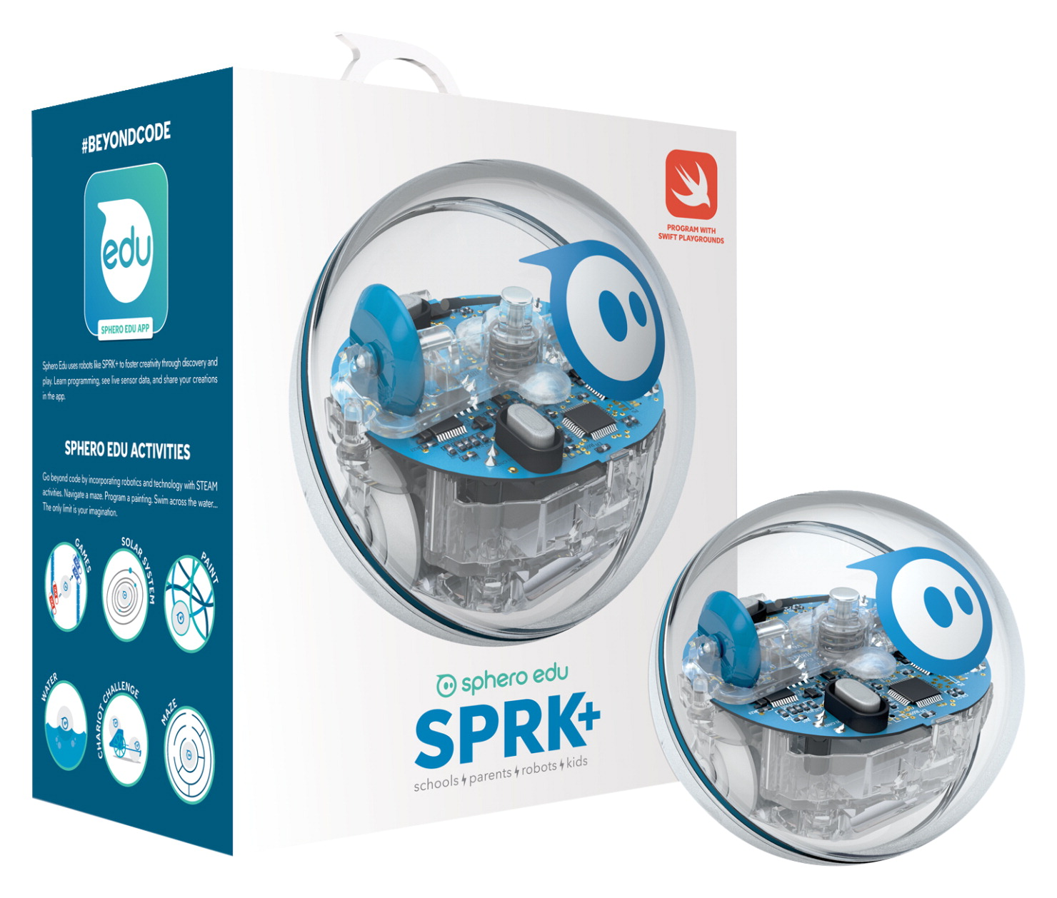 Sphero SPRK+ STEAM App-Enabled Educational Coding Robot Ball