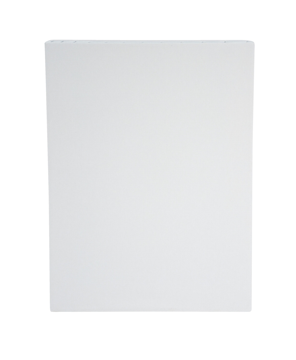 Sax Quality Stretched Canvas, Double Acrylic Primed, 12 x 16 Inches, White