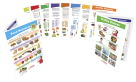 My Plate Food & Nutrition Visual Learning Guides Collection, Grades 1 - 2, Set of 10