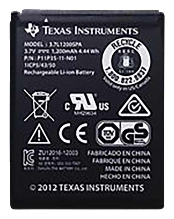 Texas Instruments  Rechargeable Battery, Without Wire