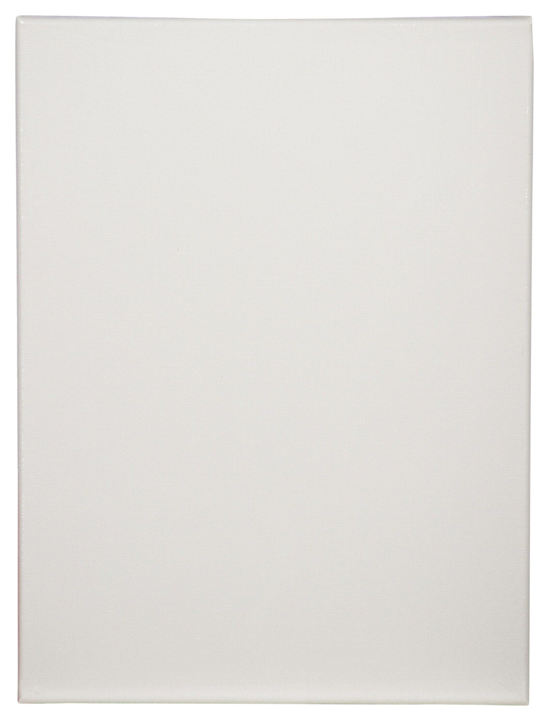 Tara Stretched Back Stapled Cotton Canvas, 9 x 12 in, White, Pack of 3