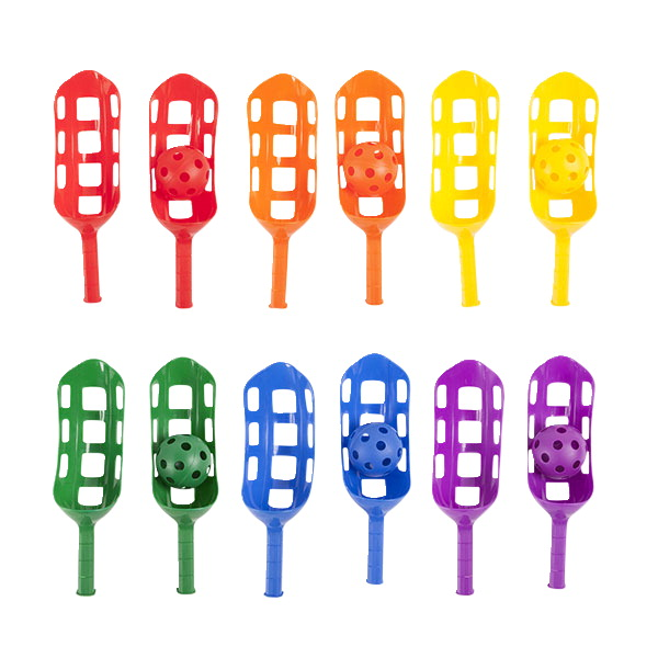 Champion Scoops and Balls, Set of 12 Scoops and 6 Balls