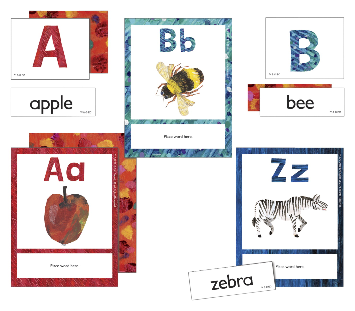 World of Eric Carle Alphabet Learning Cards