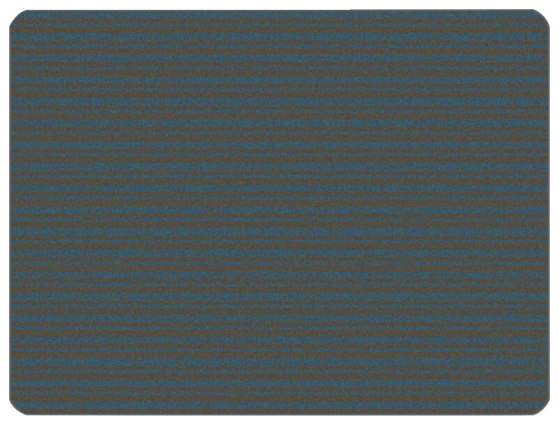 Carpets for Kids KIDSoft Subtle Stripes, 4 x 6 Feet, Rectangle, Gray and Blue