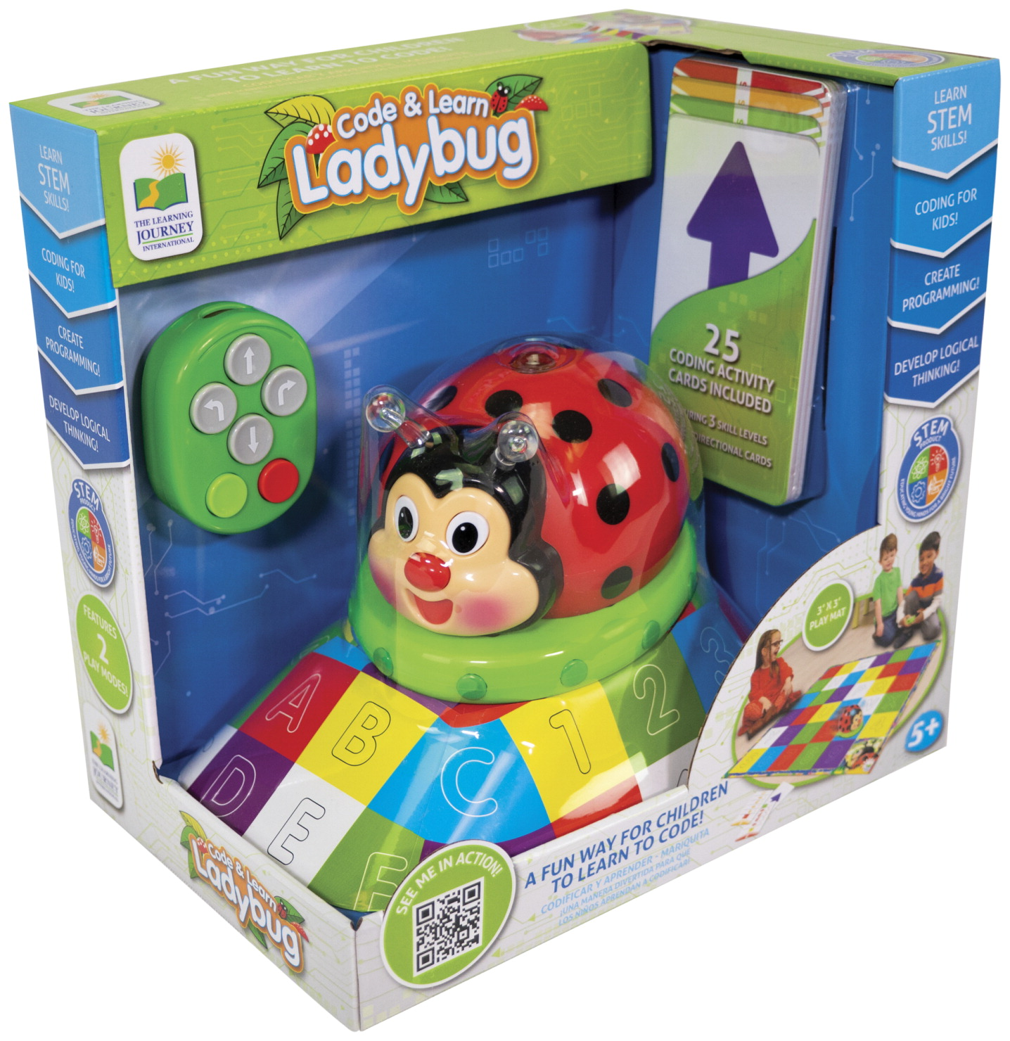Learning Journey Code and Learn Ladybug