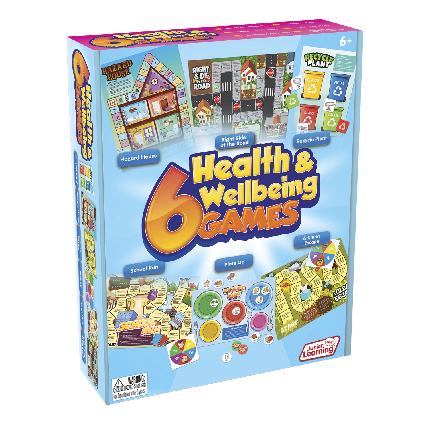 Junior Learning Health and Wellbeing Games Set