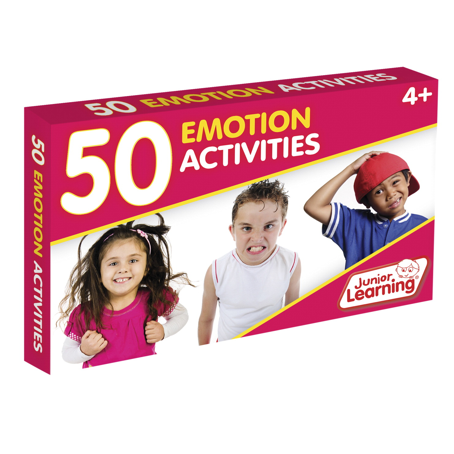 Junior Learning 50 Emotion Activity Cards