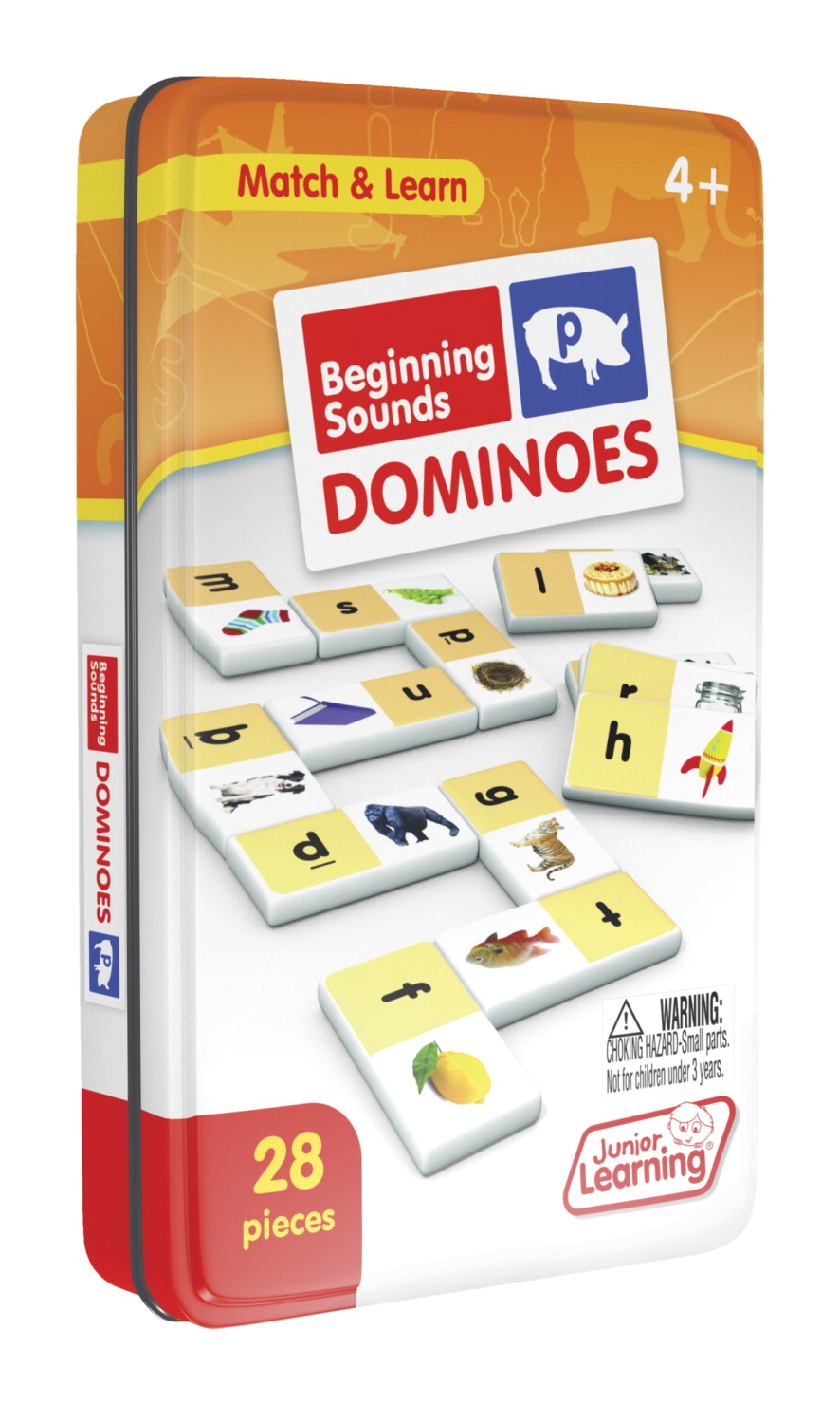 Junior Learning Beginning Sounds Dominoes