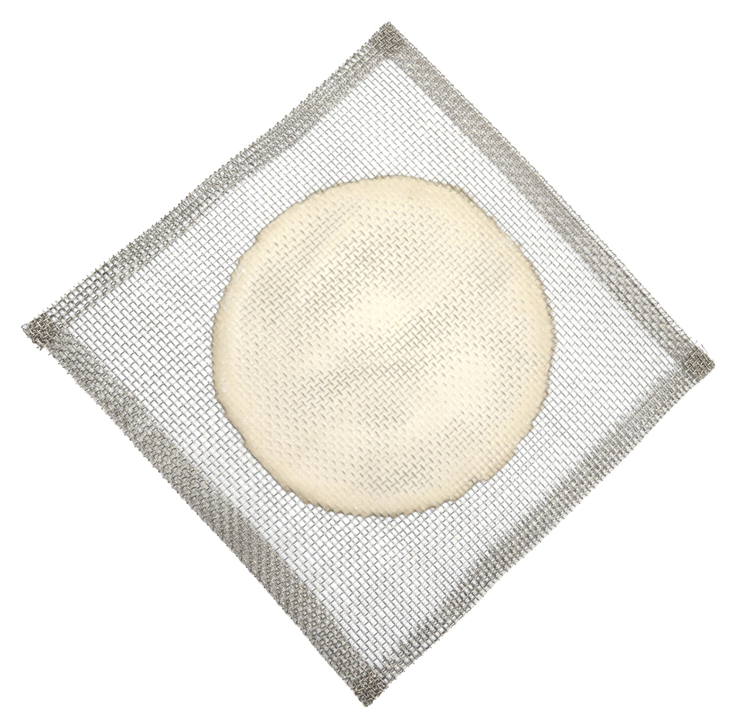 Eisco Labs Wire Gauze, Steel with Ceramic Center, 6 x 6 Inches, Pack of 10