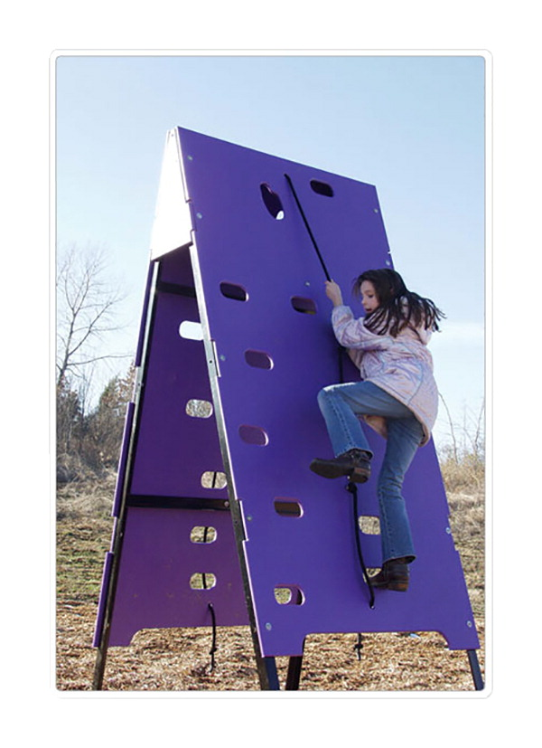Sportsplay Equipment Double Sided Climber Challenge