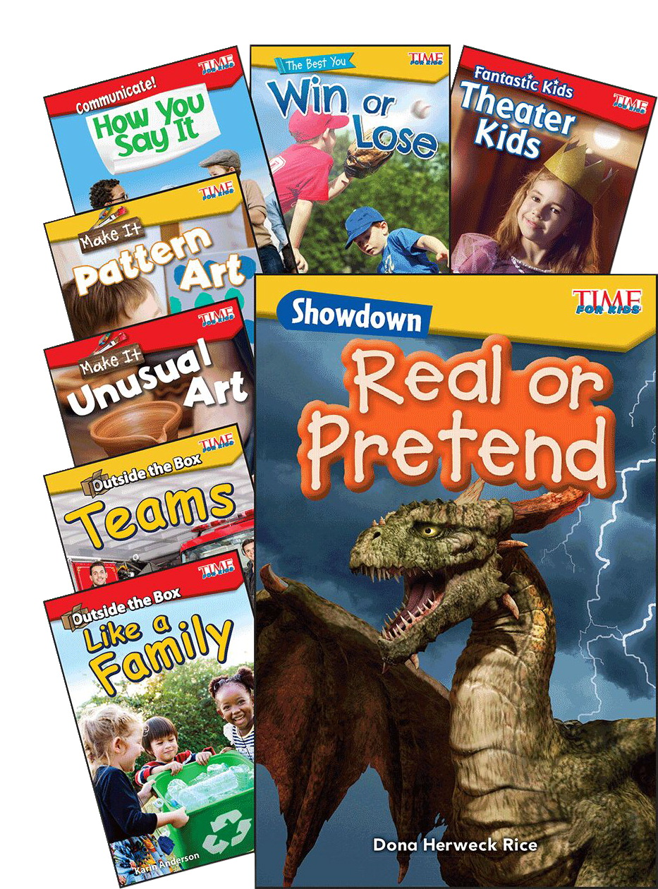 Teacher Created Materials TIME FOR KIDS® Informational Text, Set A, Set of 8, Grades K to 1